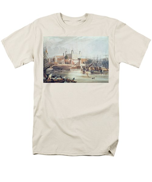 View Of The Tower Of London Men's T-Shirt  (Regular Fit) by John Gendall