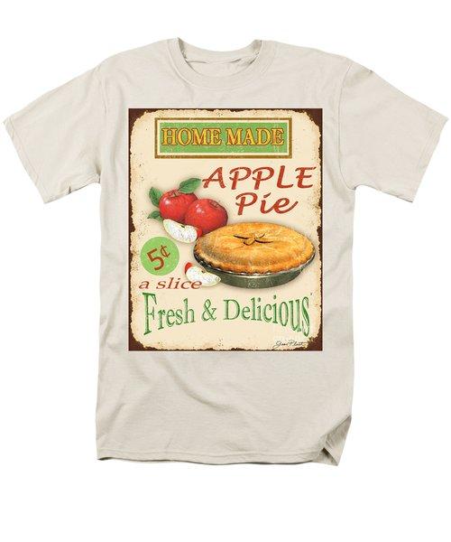 Vintage Apple Pie Sign Men's T-Shirt  (Regular Fit) by Jean Plout