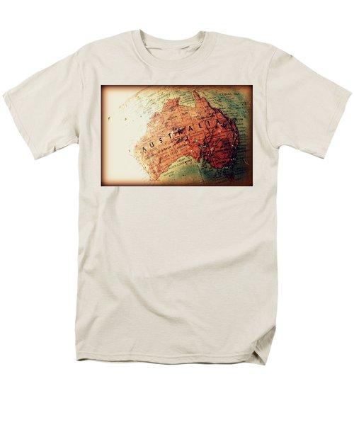 Men's T-Shirt  (Regular Fit) featuring the photograph Vintage Australia by Faith Williams
