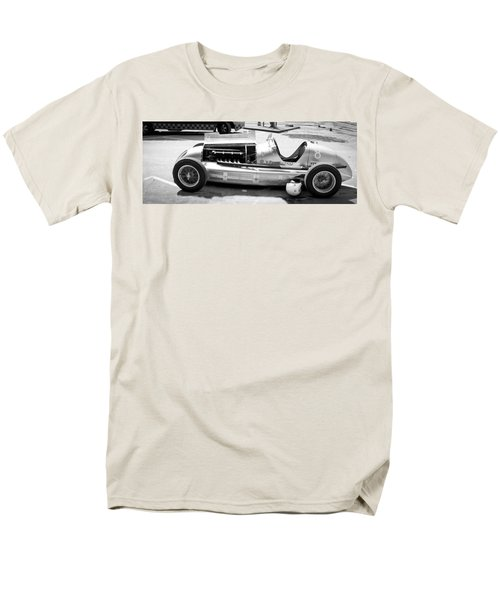 Men's T-Shirt  (Regular Fit) featuring the photograph Vintage Racing Car by Gianfranco Weiss
