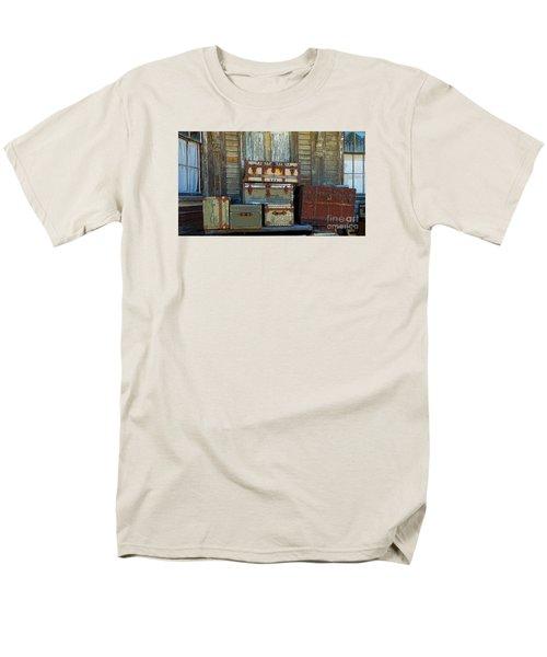Vintage Trunks   Sold Men's T-Shirt  (Regular Fit) by Marcia Lee Jones