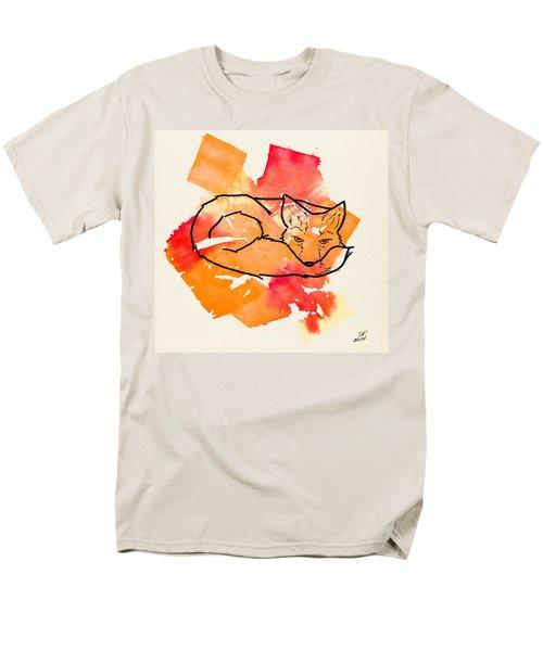 Vulpes Vulpes Men's T-Shirt  (Regular Fit) by Stefanie Forck