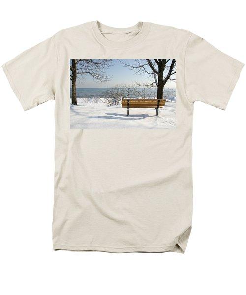 Waiting For Spring Men's T-Shirt  (Regular Fit) by Laurel Best