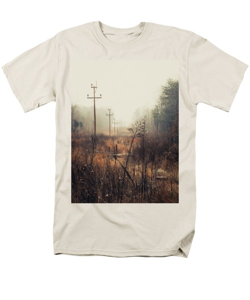 Walking The Lines Men's T-Shirt  (Regular Fit) by Jessica Brawley