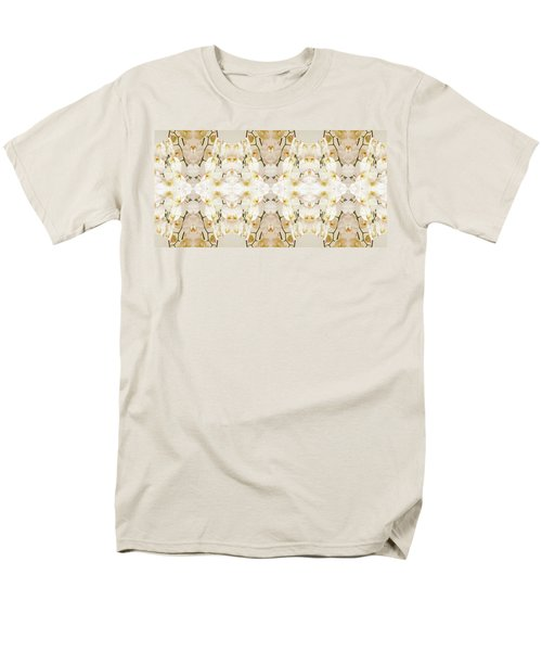 Wall Of Orchids II Panorama Men's T-Shirt  (Regular Fit) by Paul Ashby