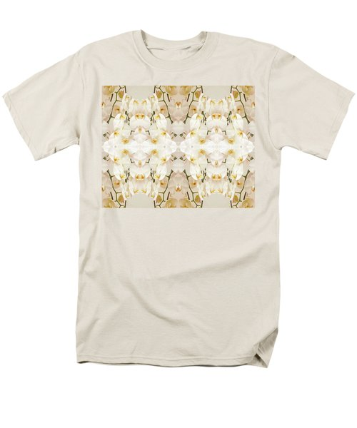 Wall Of Orchids II Men's T-Shirt  (Regular Fit) by Paul Ashby