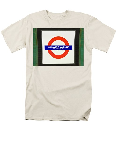 Men's T-Shirt  (Regular Fit) featuring the photograph Warwick Station by Keith Armstrong