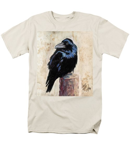 Watching And Waiting Men's T-Shirt  (Regular Fit) by Billie Colson