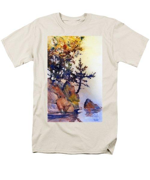 Water's Edge Men's T-Shirt  (Regular Fit) by Teresa Ascone