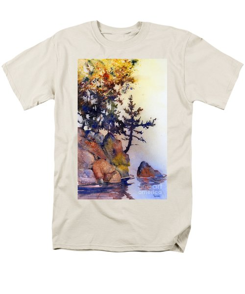 Water's Edge Men's T-Shirt  (Regular Fit)
