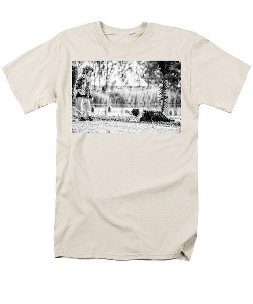 We Live As We Dream Men's T-Shirt  (Regular Fit) by Traven Milovich