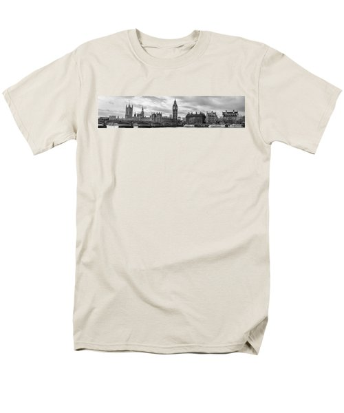 Westminster Panorama Men's T-Shirt  (Regular Fit) by Heather Applegate