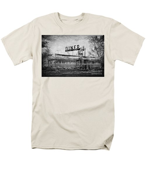 Men's T-Shirt  (Regular Fit) featuring the photograph What Is On The Menu by Debra Fedchin