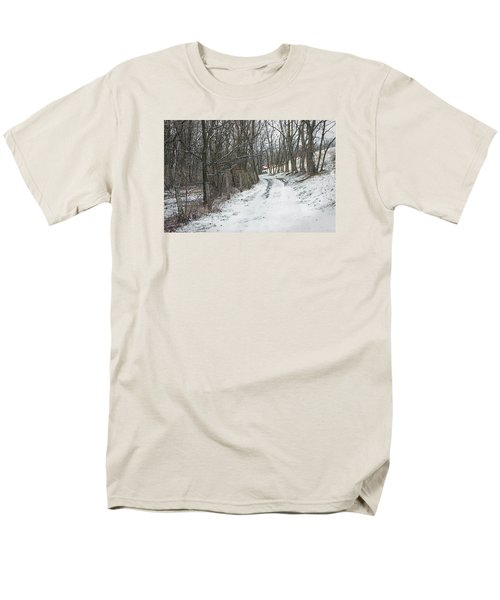 Where The Road May Take You Men's T-Shirt  (Regular Fit) by Photographic Arts And Design Studio