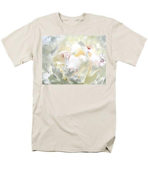 White Peony Men's T-Shirt  (Regular Fit)