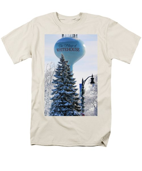 Whitehouse Water Tower  7361 Men's T-Shirt  (Regular Fit) by Jack Schultz