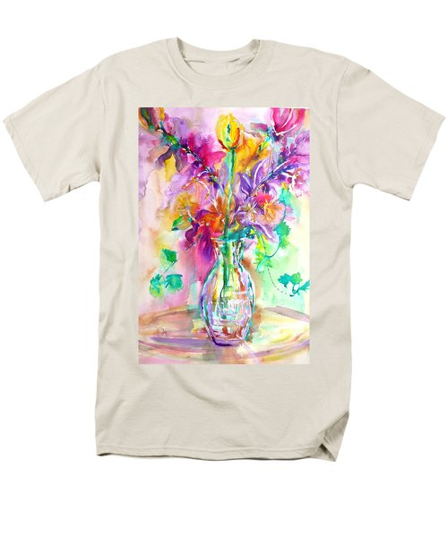 Wild Flowers Men's T-Shirt  (Regular Fit)