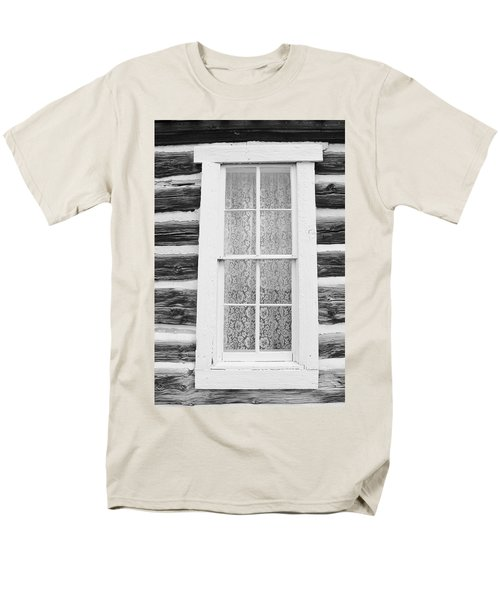 Men's T-Shirt  (Regular Fit) featuring the photograph Window To The Old West by Diane Alexander