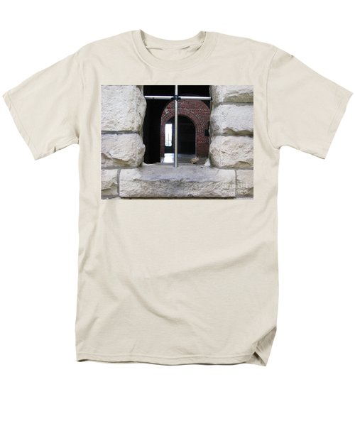 Window Watcher Men's T-Shirt  (Regular Fit) by Michael Krek