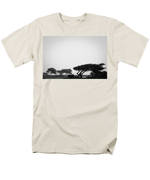 Windswept Shoreline Men's T-Shirt  (Regular Fit) by Melinda Ledsome