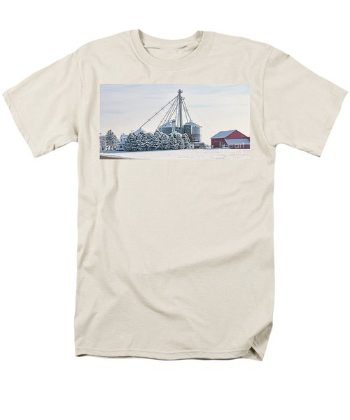Winter Farm  7365 Men's T-Shirt  (Regular Fit) by Jack Schultz