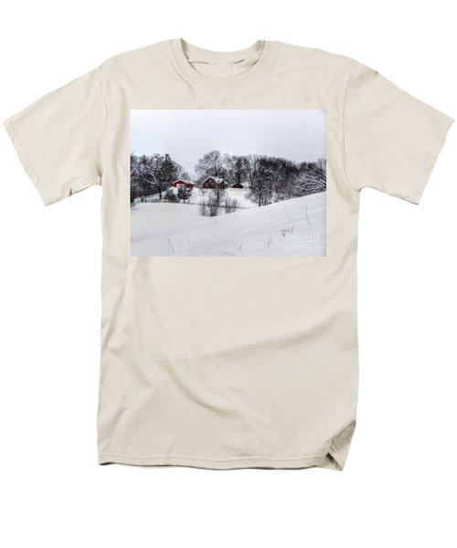Winter Landscape 5 Men's T-Shirt  (Regular Fit) by Dan Stone