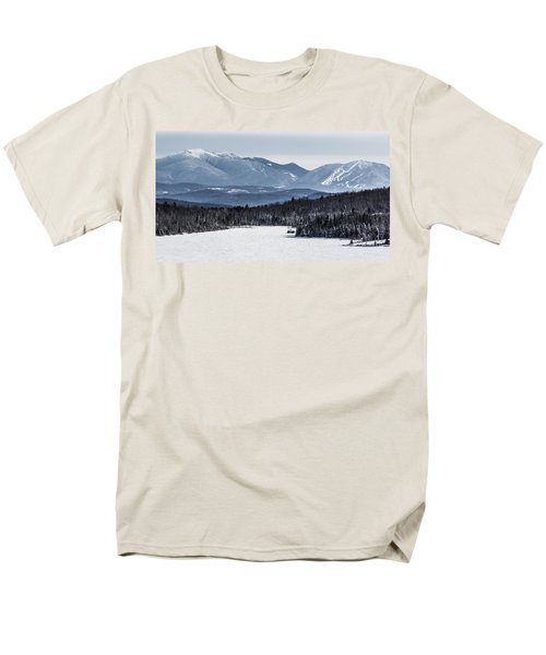 Winter Mountains Men's T-Shirt  (Regular Fit) by Tim Kirchoff