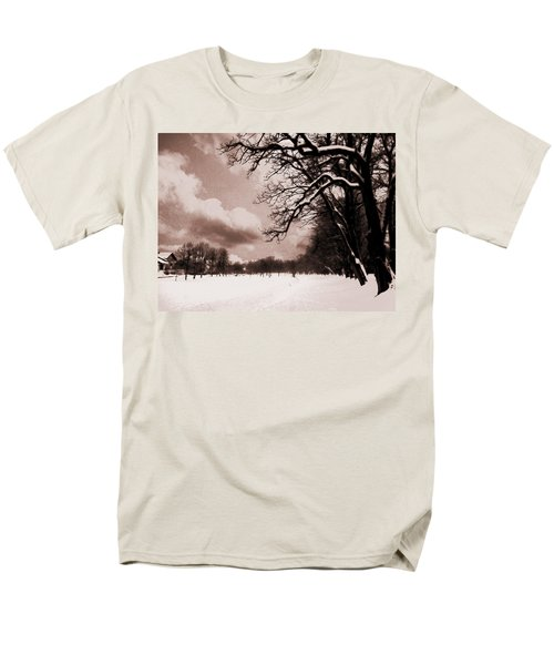 Men's T-Shirt  (Regular Fit) featuring the photograph Winter Tale by Nina Ficur Feenan