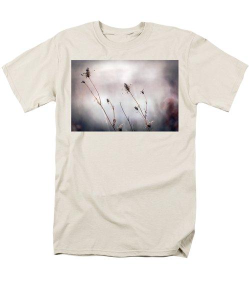 Men's T-Shirt  (Regular Fit) featuring the photograph Winter Wild Flowers by Sennie Pierson