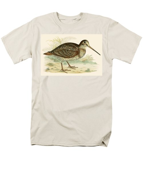 Woodcock Men's T-Shirt  (Regular Fit) by Beverley R Morris