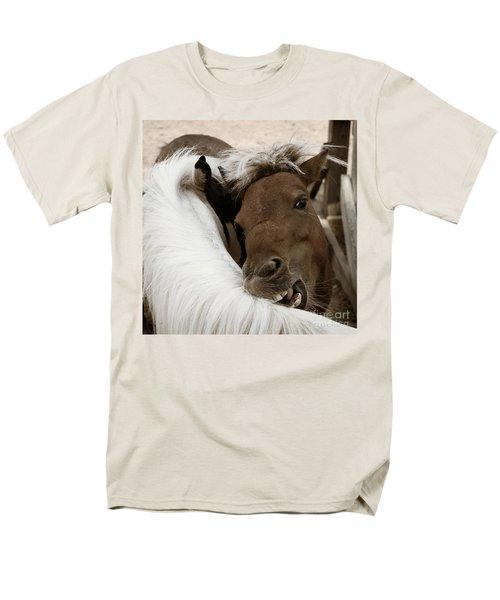 You Scratch Mine Men's T-Shirt  (Regular Fit) by Carol Lynn Coronios
