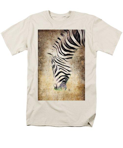 Zebra Fade Men's T-Shirt  (Regular Fit) by Steve McKinzie