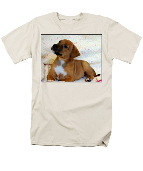 Men's T-Shirt  (Regular Fit) featuring the photograph   Take Me Home Please by Peggy Franz