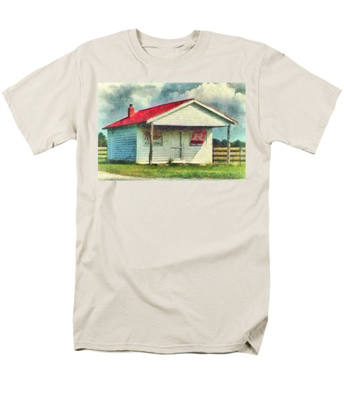 Men's T-Shirt  (Regular Fit) featuring the painting Royster Fertilizers  by Lynne Jenkins