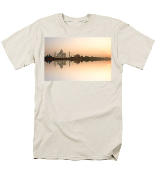 Men's T-Shirt  (Regular Fit) featuring the photograph Taj Mahal  by Luciano Mortula