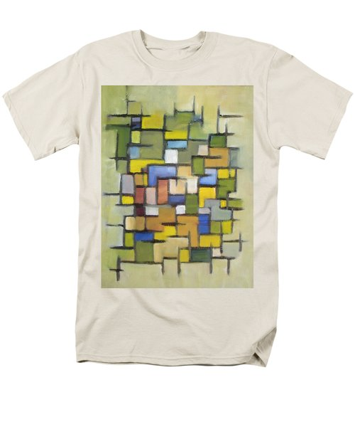 2012 Abstract Line Series Xx Men's T-Shirt  (Regular Fit) by Patricia Cleasby