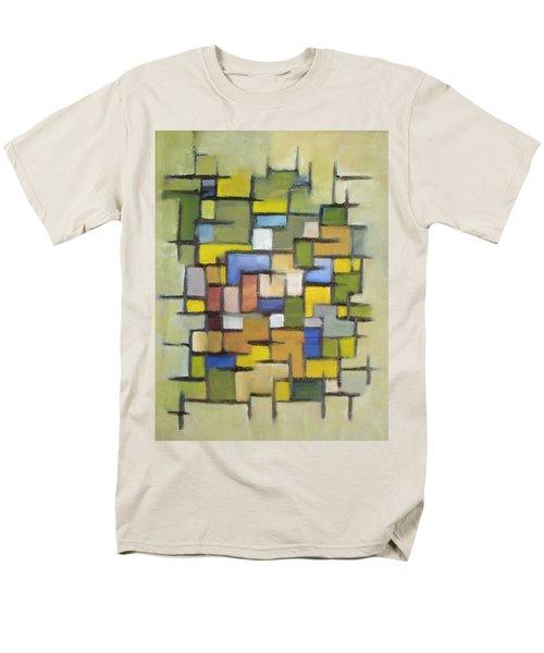 2012 Abstract Line Series Xx Men's T-Shirt  (Regular Fit)