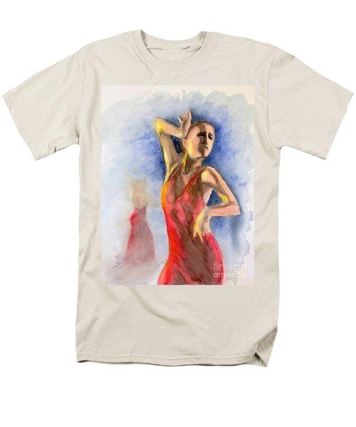 A Flamenco Dancer  2 Men's T-Shirt  (Regular Fit) by Yoshiko Mishina
