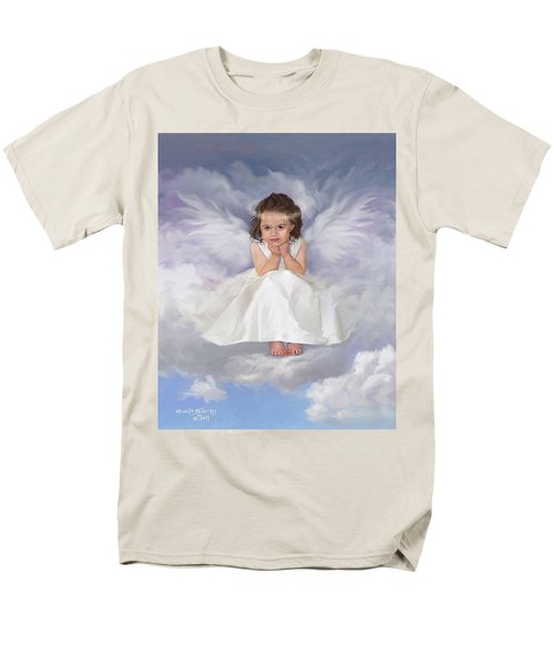 Men's T-Shirt  (Regular Fit) featuring the painting Angel 2 by Rob Corsetti