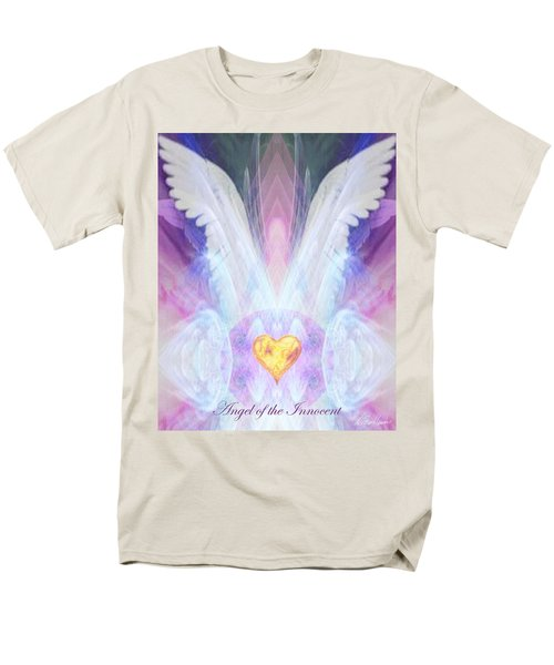 Angel Of The Innocent Men's T-Shirt  (Regular Fit) by Diana Haronis