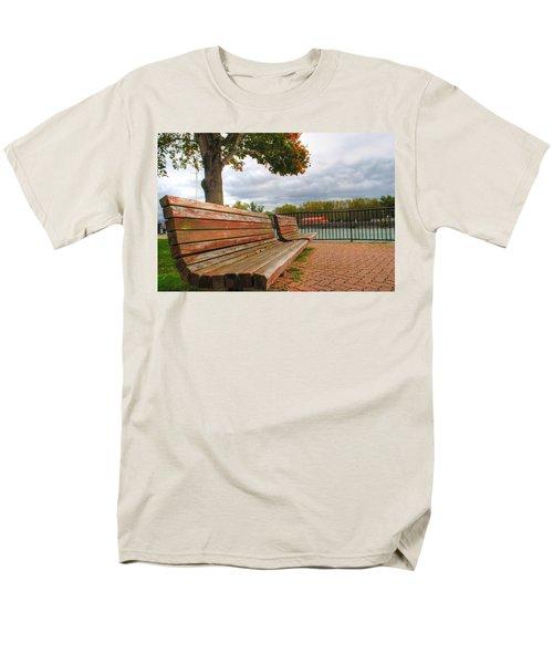 Men's T-Shirt  (Regular Fit) featuring the photograph Awaiting by Michael Frank Jr