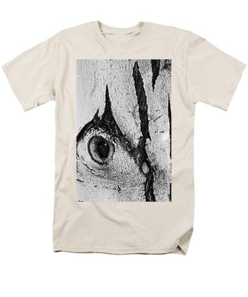 Bark Eye Men's T-Shirt  (Regular Fit) by Colleen Coccia