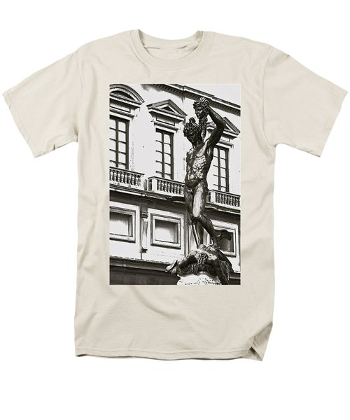 Men's T-Shirt  (Regular Fit) featuring the photograph Bronze Icon by Eric Tressler
