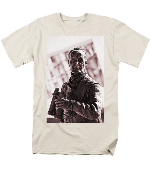 Men's T-Shirt  (Regular Fit) featuring the photograph Captain F J Walker by Meirion Matthias