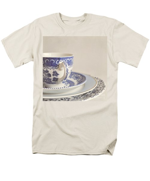 China Cup And Plates Men's T-Shirt  (Regular Fit) by Lyn Randle