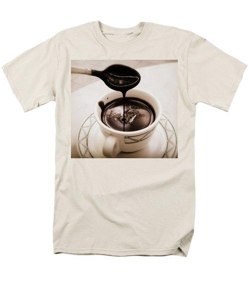 Cioccolata Calda Men's T-Shirt  (Regular Fit) by Catie Canetti