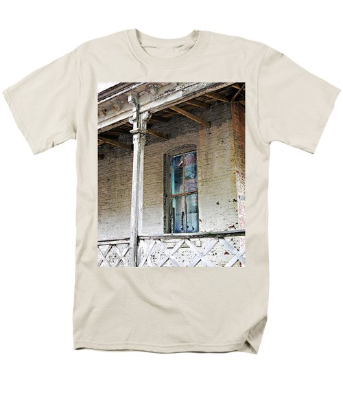 Men's T-Shirt  (Regular Fit) featuring the photograph Civil War Hospital Memphis by Lizi Beard-Ward