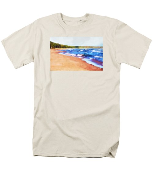 Men's T-Shirt  (Regular Fit) featuring the photograph Colors Of Water by Phil Perkins