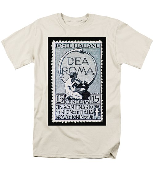 Men's T-Shirt  (Regular Fit) featuring the photograph Dea Roma by Andy Prendy
