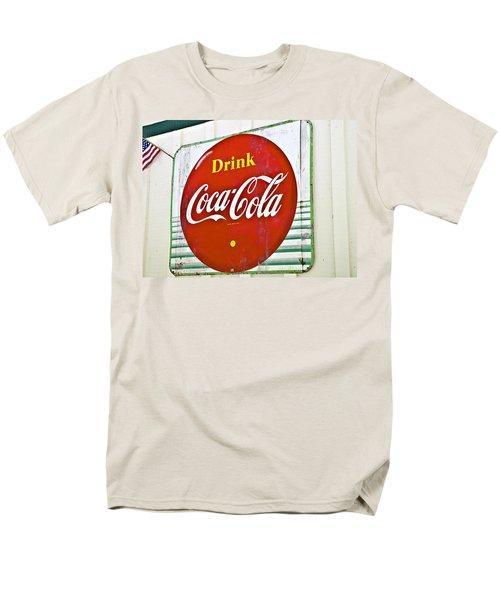 Drink Coca Cola Men's T-Shirt  (Regular Fit) by Susan Leggett